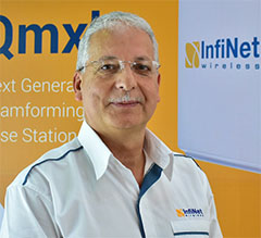 Kamal Mokrani, vicepresidente global de InfiNet Wireless