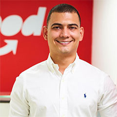 Luis Miguel Ballestas, Country Manager de iFood Colombia
