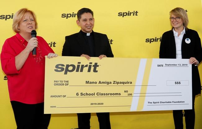 Donación Spirit Airlines