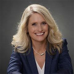 Angie McMillin, vicepresidente de iniciativas comerciales en Vertiv