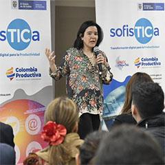 Sylvia Constaín ministra TIC