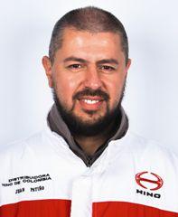 Juan Patiño, gerente de servicio de Distribuidora Hino de Colombia