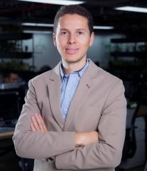 Ricardo García Molina, director general de Evertec en Medellín