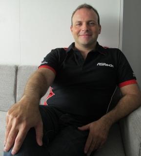 Hernán Chapitel, Director de Ventas para Latinoamérica de ASRock