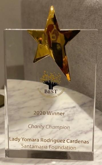 Premio categoría de campeones benéficos 2020